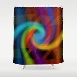 Color magic Shower Curtain
