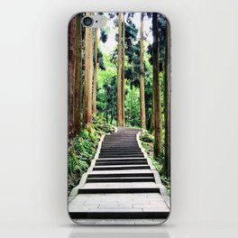Begins with a simple step iPhone Skin