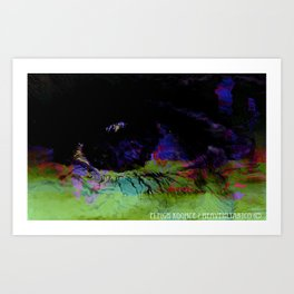 Window Of The Soul - Desire Art Print