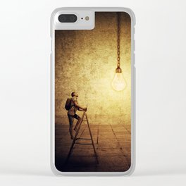 idea achievement Clear iPhone Case