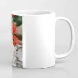 Macro Of Shrub Verbenas or Lantanas (Lantana Camara)  Coffee Mug