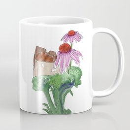 Madrid, Broccoli, Echinacea Coffee Mug