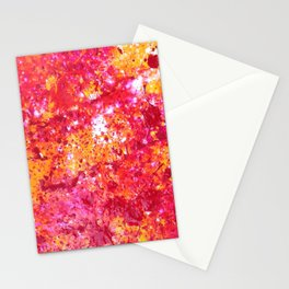 Abstract Paint Phone Case Stationery Cards