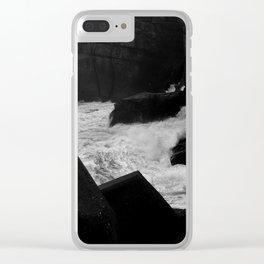 sea06 Clear iPhone Case