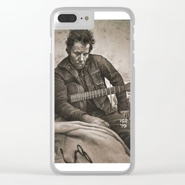 Murder in the Red Barn, Clear iPhone Case