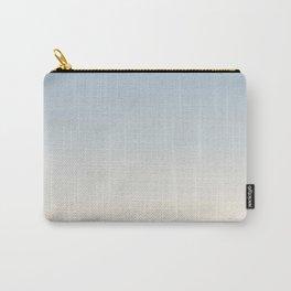 IVORY BONES - Minimal Plain Soft Mood Color Blend Prints Carry-All Pouch