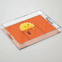 Pocketful of sunshine Acrylic Tray