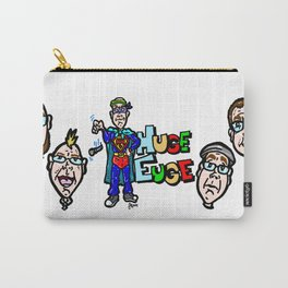 Huge Euge! Pop Culture, and often Nerd culture, rap at its best! Carry-All Pouch