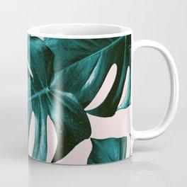 Monstera Leaves Pattern #4 #tropical #decor #art #society6 Coffee Mug