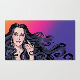 Cher's Hair Canvas Print