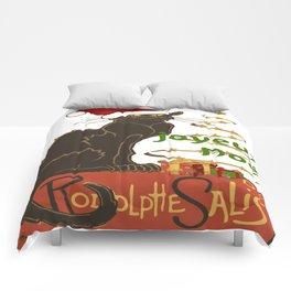 Joyeux Noel Le Chat Noir Christmas Parody Comforters
