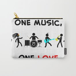 One Music, One Love Carry-All Pouch