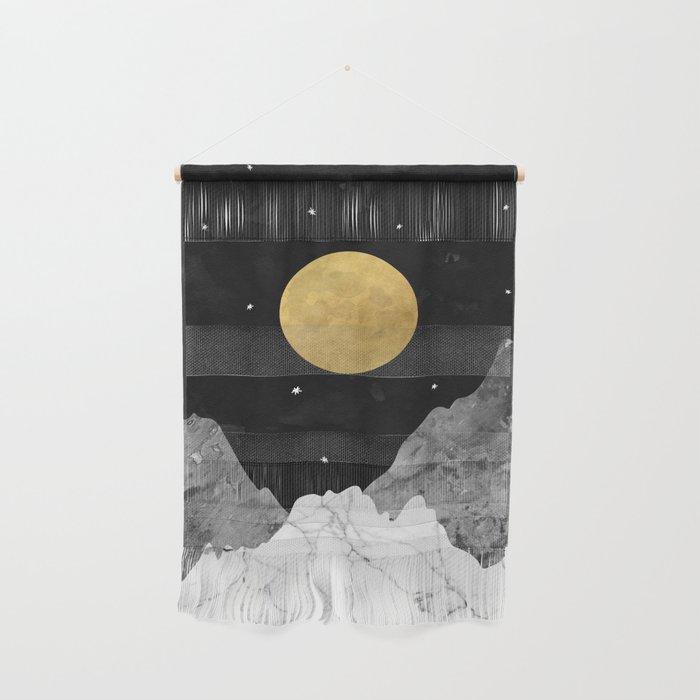 Moon and Stars Wall Hanging
