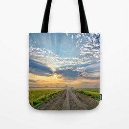 Level B Morning 2 Tote Bag