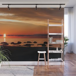 Cruising into the Sunset Wall Mural
