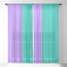 Happy colors Sheer Curtain