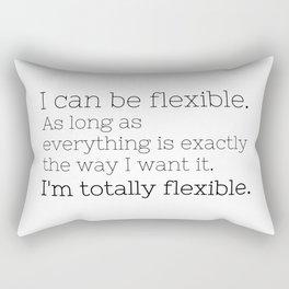 I'm totally flexible - GG Collection Rectangular Pillow