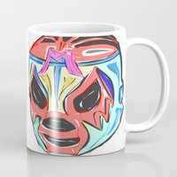 mexico Mugs featuring MEXICO by MANDIATO ART & T-SHIRTS