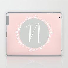 Garland Initial N - Grey Laptop & iPad Skin