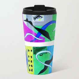 inspiration from Matisse . Gift Ideas for Him and Her . Art Travel Mug