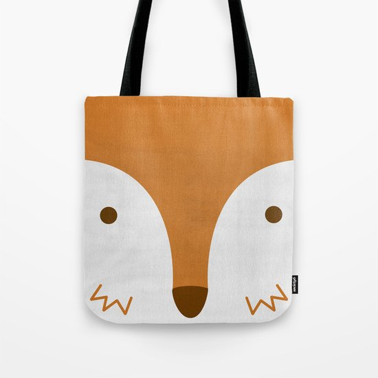 Mr Fleecy Fox Tote Bag