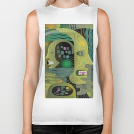Race Against Time Biker Tank