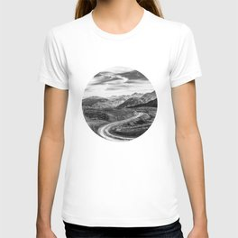 Country Road in a Mountain Landscape T-shirt
