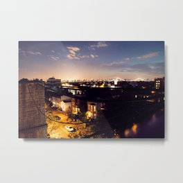 Boroughs Metal Print