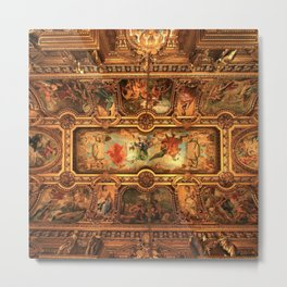 Midnight with Botticelli, Raphael, Michelangelo, & Perugino, Sistine Chapel, Rome Metal Print
