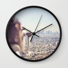 View from the Top, Los Angeles Wall Clock