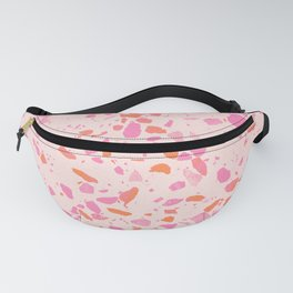 Terrazzo paper - pink Fanny Pack