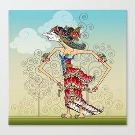 wayang Princess Srikandi Canvas Print