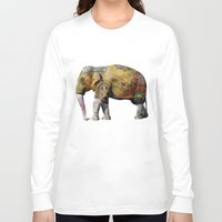 tatoo Long Sleeve T-shirts featuring Damn Tatoo Artists by Robin Curtiss