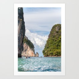 Phang Nga Islets_Thailand Art Print