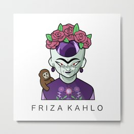 FRIZA KAHLO Metal Print