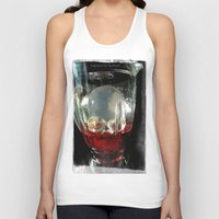 cocktail Tank Tops featuring Deadly Cocktail by Jorgenson Art Syndicate