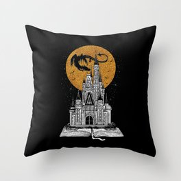 Fairytale Book Throw Pillow