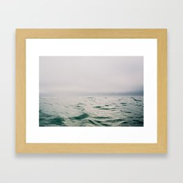 Salty & Serene Framed Art Print