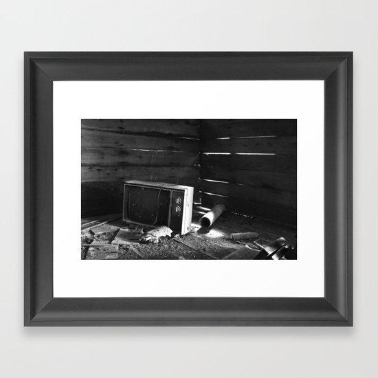 Kill Your TV Framed Art Print
