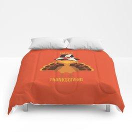 Happy Thanksgiving Comforters