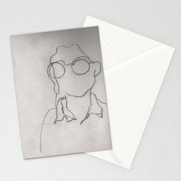 Alone by Laila Cichos Stationery Cards