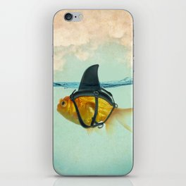 Brilliant Disguise Goldfish iPhone Skin