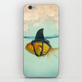 Brilliant Disguise Goldfish iPhone Skin