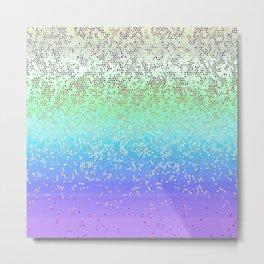 Glitter Star Dust G242 Metal Print