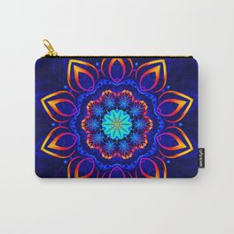 Verona Flower Mandala Carry-All Pouch