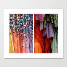 Ribbon & Towels Canvas Print