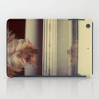 yorkie iPad Cases featuring Yorkie Daydreaming by Kirsten Renfroe Photography
