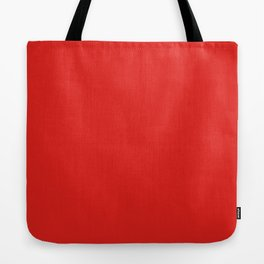 Solid Shades - Cherry Tote Bag