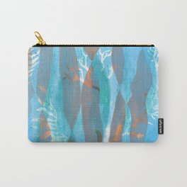 Sea Spray Underwater Pattern Prin Carry-All Pouch