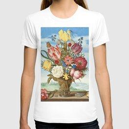 "Ambrosius Bosschaert ""Bouquet of Flowers on a Ledge"" T-shirt"